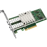 Intel E10G42BTDABLK Ethernet Converged Network Adapter X520-DA2 - Network adapter - PCI Express 2.0 x8 low profile - 10Gb Ethernet x 2