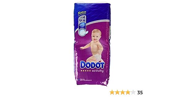 8-14 kg Dodot Protection Plus Activity Pa/ñales para beb/é 186 Pa/ñales Talla 4