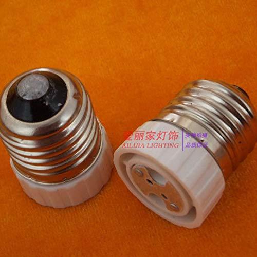 Halica 1PCS E27 to MR16 Lamp Holder Adapter Converter LED Light Lamp Adapter Screw Socket E27 Ceramic lamp holder E27 to GU5.3 G4