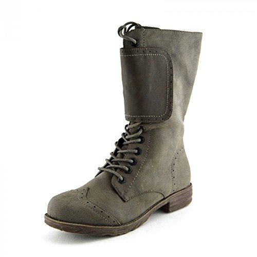 Kick Footwear Ladies Designer Ankle Boots Taupe