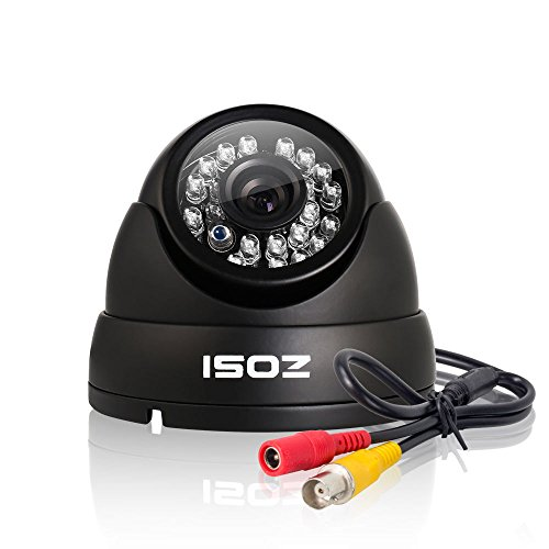 About Contact Lenses (ZOSI HD 1000TVL Surveillance Security Camera Day Night Vision 24 IR Leds Weatherproof Wide Angle 3.6mm Lens Metal Dome Video CCTV Camera)