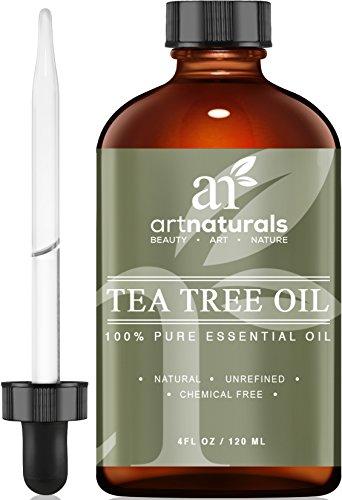 Art Naturals Reines Teebaumöl & Natürliches Premium Melaleuka 120 ml, aus Australien | Behandlung von Akne, Hautentzündungen | Aromatherapie | Ideal für Körper- & Schönheitspflege
