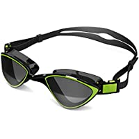 Swim Goggles for Adult Men Women - Best for Lap Swimming, Training in Pool, Open Water, Triathlon, Cool Competitive Swim…