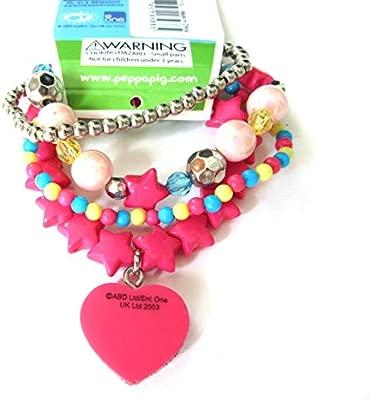 Peppa Pig bracelets (accesorio de disfraz): Amazon.es: Juguetes y ...