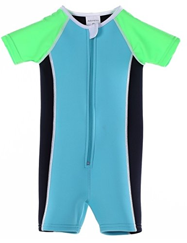 Adoretex Kids Thermal Suit(KT001) - Blue/Black/Green - 5T