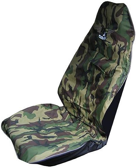 OShea Car Seat Cover Green Camo