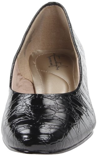 Soft Women's Black Croco Pump Angel Style II rUrB6
