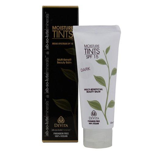 Devita Natural Skin Care Moisture Tint SPF 15, Dark, 2.5 Fluid Ounce