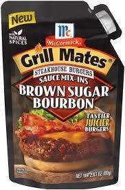 - McCormick Grill Mates Sauce Mix-Ins, Brown Sugar Bourbon, 2.83 oz by McCormick