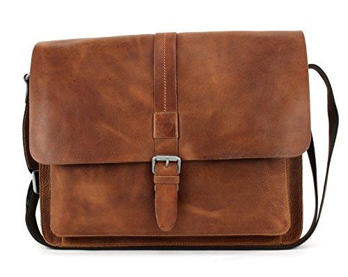 Strellson Blake 14'' Laptop-Messenger Bag 4010001692-703 Cognac (Braun)