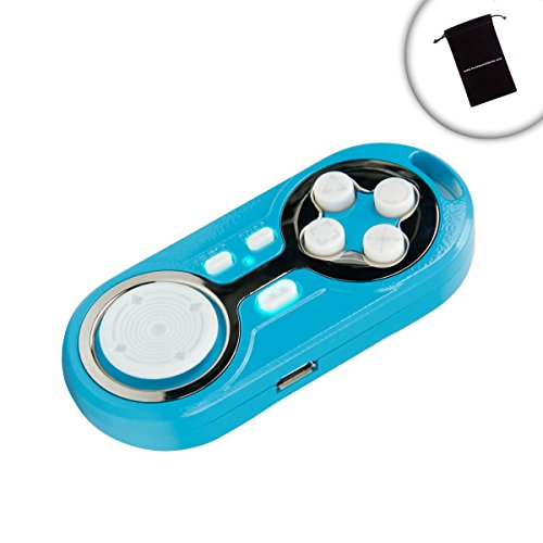 ENHANCE Multimedia Bluetooth Gamepad Controller with Selfie Camera Shutter  Control and Charging Port - Works with Samsung Galaxy Note 5 , Motorola
