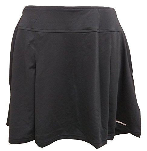 Reebok Women's Club Plet Skirt (Black) - XL