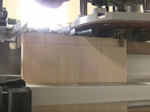 Machine-Cut Dovetails (Porter Cable 12 Dovetail Jig Model 4210)