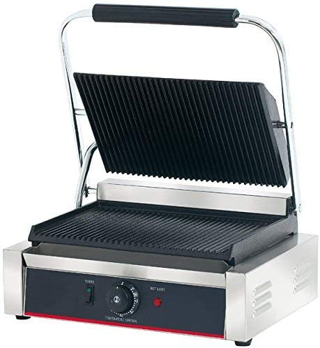 Hakka Commercial Panini Press Grill and Sandwich Griddles/&Contact Grill