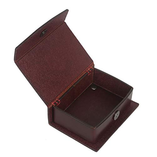 (TOURBON Gun Cleaning Accessories Jag and Brush Case - Leather)