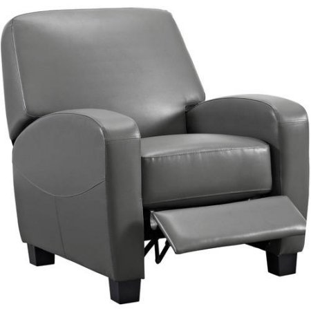 Mainstays Home Theater Recliner, Multiple Colors (Gray) by Mainstay