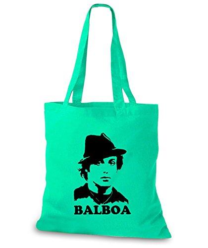 StyloBags Jutebeutel / Tasche Balboa v2 Mint 0fvVDsPP