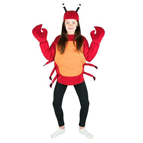 Bodysocks Kids Crab Fancy Dress