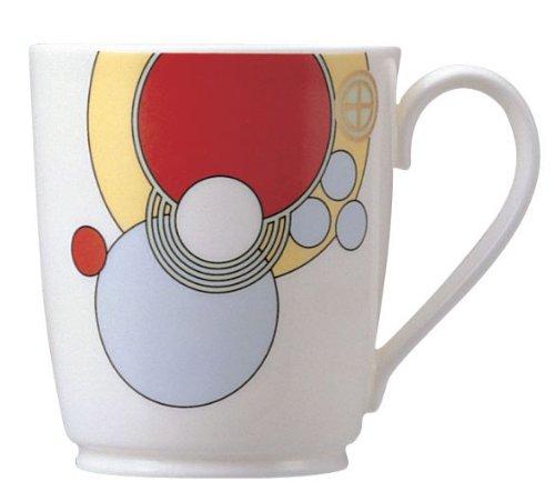 bone china Frank Lloyd Wright design tableware mugs  (japan import) - Noritake T97280/4614
