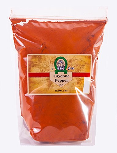 Cayenne Pepper 2 lb by International Spice (Cayenne Pepper Spice)