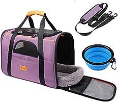 morpilot Faltbare Hundetragetasche Katzentragetasche, Haustiertragetasche, Transporttasche Transportbox Oxford Gewebe,...