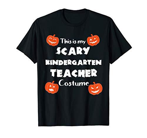 This is My Scary Kindergarten Teacher Halloween Costume