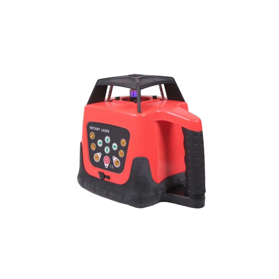 Generic Rotary Rotating Green Laser Level Professional Fully Automatic Electronic Self Leveling Motorized Rotary Laser Level Horizontal and Vertical Kit 500m Range Complete Package in One Carryring Case