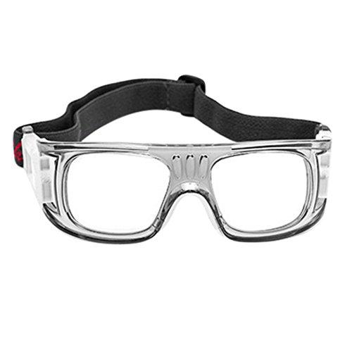 5301eb0479e Galleon - 1 Pcs Men Women Safety Sports Football Basketball Eye Protection  Eyeglasses Optical Spectacles Glasses Spectacle Frame (Grey)