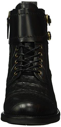 Tommy Hilfiger B1285ologna 1c1, Zapatillas de Estar por Casa para Mujer Negro - Schwarz (Black 990)