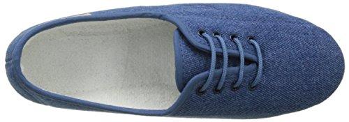Luxat Bego - Zapatos de Cordones de canvas mujer Azul (Bleu Jeans)