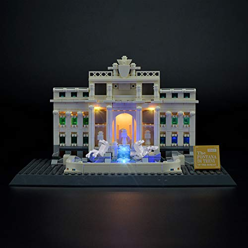 - LIGHTAILING Light Set for (Architecture Trevi Fountain) Building Blocks Model - Led Light kit Compatible with Lego 21020(NOT Included The Model)