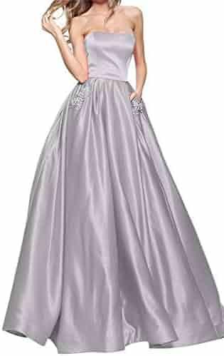 5ecdb0f070a PromC Women 2019 Beading Prom Dresses Long Formal Wedding Evening Gown P004