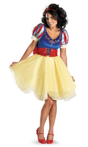 Sassy Snow White Costumes (Junior Young Adult Sassy Snow White Prestige Costume - Size Jr (7-9))