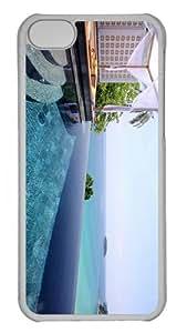 cover Cheap price resort kata beach katathani thailand PC Transparent case for iphone 5C
