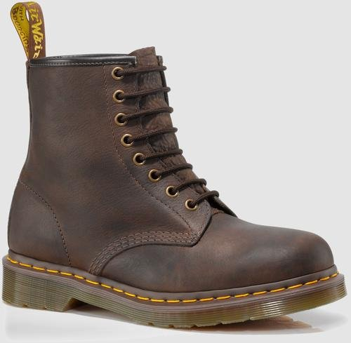 Dr. Martens 1460 8 Eye Boot,Bark,7 UK/8 M US (Eye Boot Leather Boots)