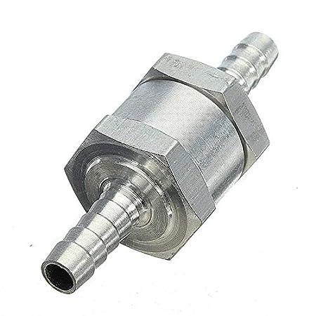 6mm 8mm 10mm 12mm V/áLvula Antirretorno Unidireccional En L/íNea Manguera De Tubo De Tubo De Agua De Combustible Y Aire
