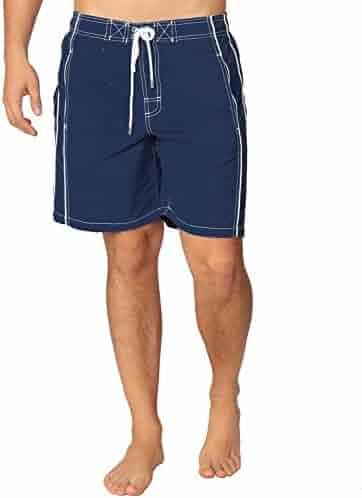 129bc4542a Premium Men's Swim Trunks UPF 50+ Quick Dry Technology & 4 Way Stretch Swimming  Shorts