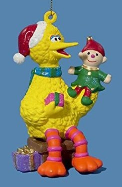 Sesame Street Big Bird with Puppet Ornament