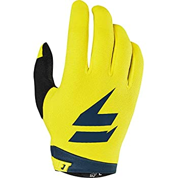 Answer Racing A17.5 Syncron Air Mens Short MotoX Motorcycle Gloves 3X-Large Yellow//Blue
