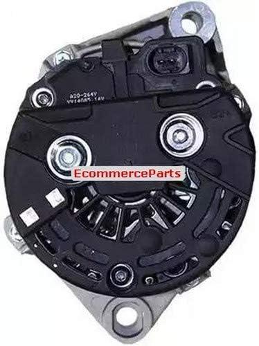 Morsetto: B+ M6 N/° alette: 5 Alternatore 9145374919488 EcommerceParts Tensione: 12 V Puleggia-/Ø: 53 mm Alternatore-Corrente carica: 90 A