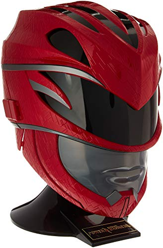 Power Rangers Movie Legacy Helmet, Red (Blue Ranger Helmet)