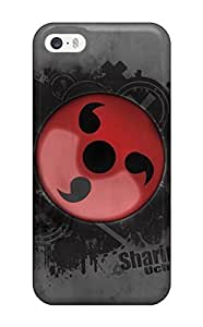 High Grade E-Lineage Flexible Case For Iphone 5/5s - Sharingan Naruto