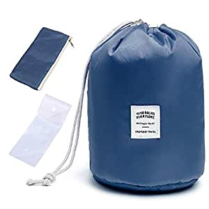 Amazon.com: 40000KM Drawstring Makeup Cosmetic Bucket Bags