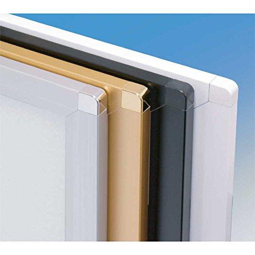 パネル (2セット)【Z-ピュアR-60(B3)】ホワイト[シンビ 店頭販促用品 アルミフレームパネル] B07F8243FN ホワイト