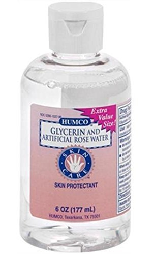 Humco glycerin and artificial rosewater - 6 Oz by HUMCO