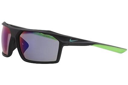da48f11e36 Nike EV1033-036 Traverse M Matte Black Neptune Green Frame Sunglasses