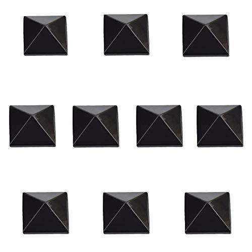 - RaceWax Full Set of Ten Pyramid Studs Stomp Pad 10 Black