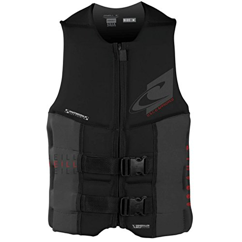O'Neill Wetsuits Men's Assault USCG Life Vest (Mens Vest Long)