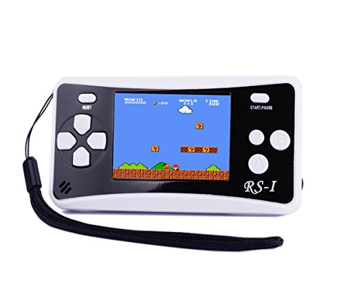 SHANGPIN Handheld Game Console, Kids Classic Retro Game Electronics Toys Portable Video Console Player, 2.5