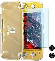 Capa de TPU para Nintendo Switch Lite, capa protetora transparente OIVO com protetor de tela macio TPE